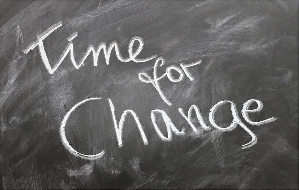 čas na zmenu
