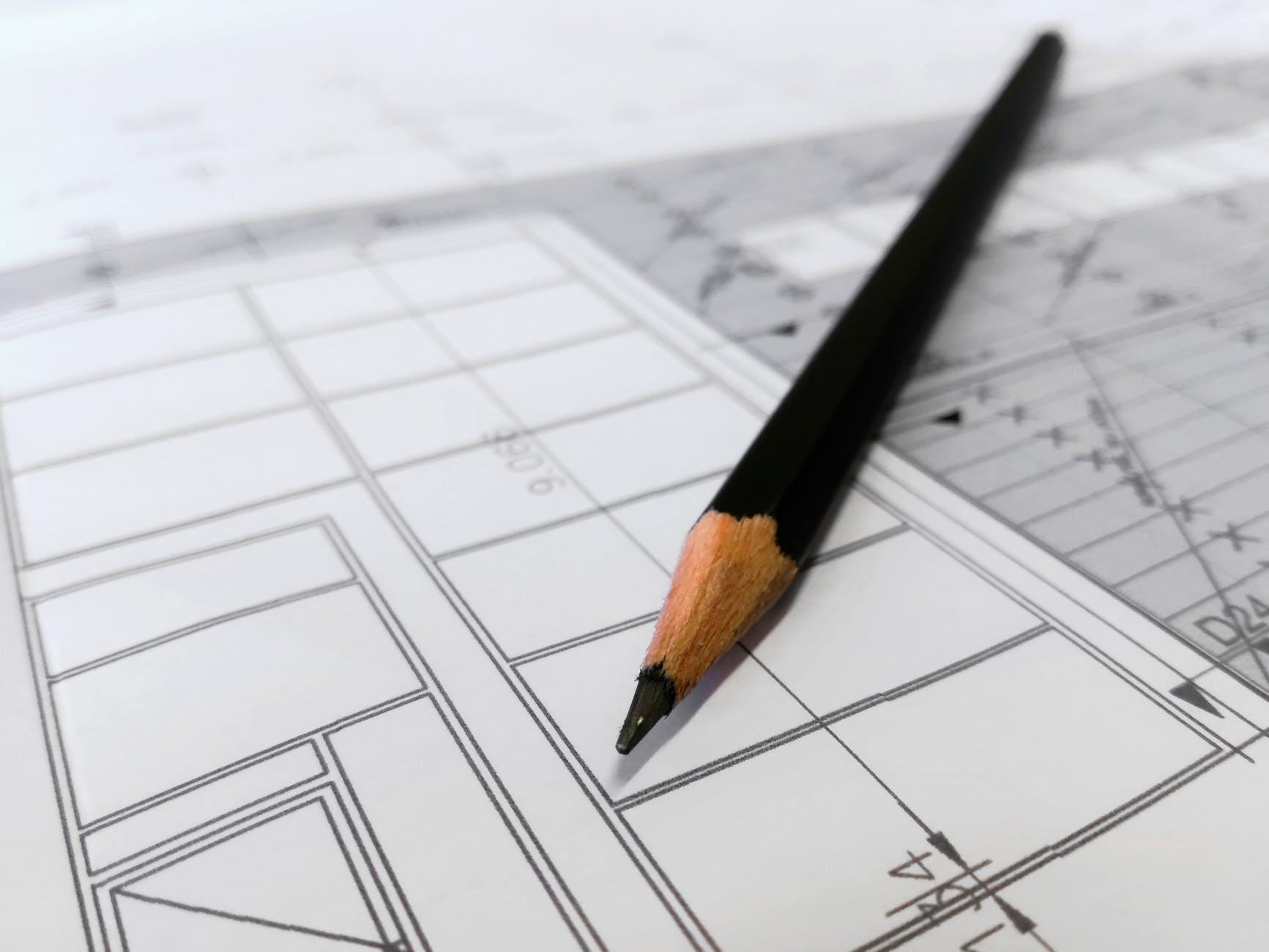ceruzka, plán