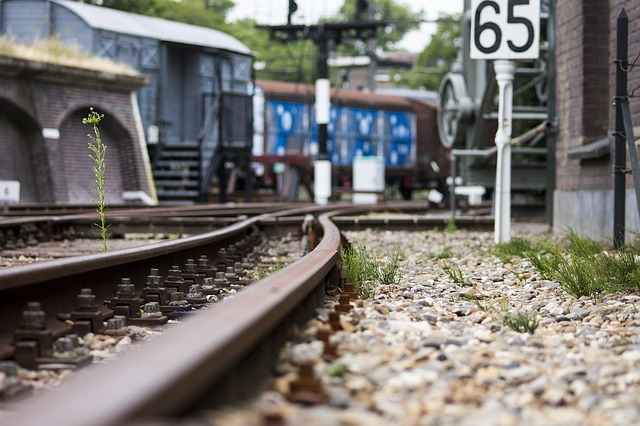 kolejiště na nádraží