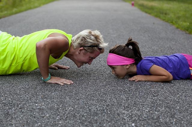 Funny cvičenia nielen pre deti