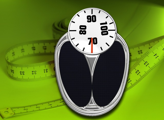 metr pod váhou