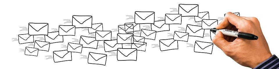 pošta, listy